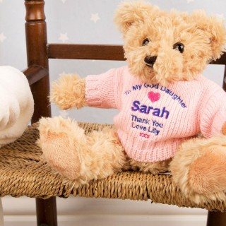 Personalised God Daughter Teddy Bear