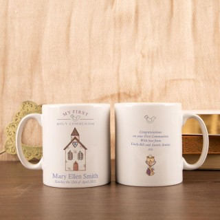 Personalised Communion Church Mug