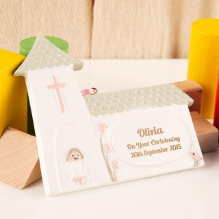 Baby Girls Christening Church Decoration