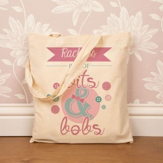 Personalised Bits & Bobs Cotton Tote