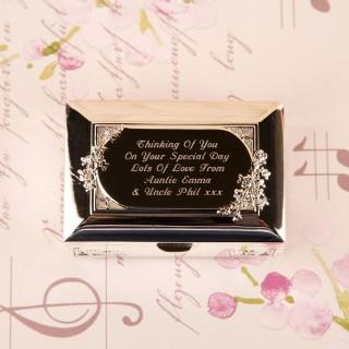 Personalised Communion Trinket Box