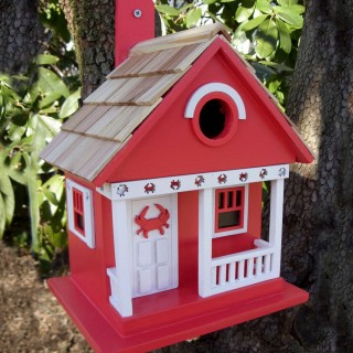 Crab Cottage Bird House