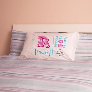 Personalised 50th Birthday Letter Pillowcase For Her