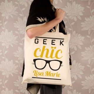 Customised Geek Chic Shoulder Bag