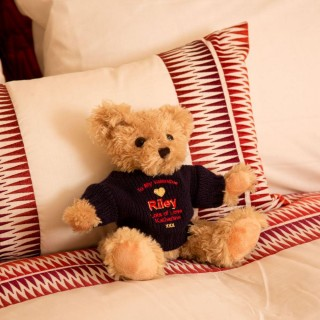 Personalised Valentine Teddy Bear For Him