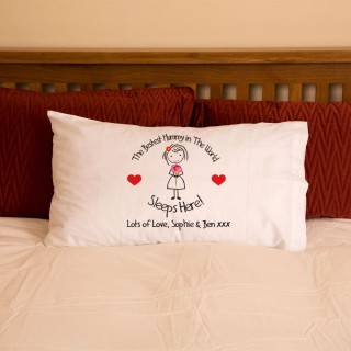 Bestest Mummy In The World Pillowcase