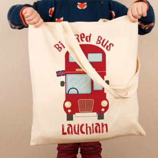 Kids Customised Bus Shoulder Bag
