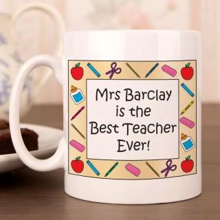 The Best Teacher Ever Mug
