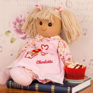 Personalised Girls Rag Doll