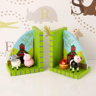 Farm Animal Bookends