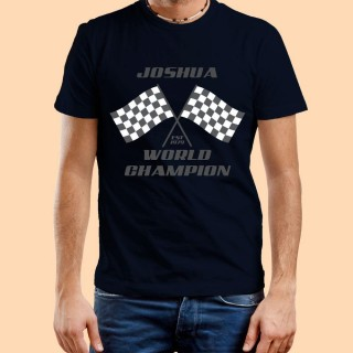 Bespoke Navy World Champion Mens T-Shirt