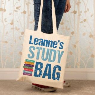 Personalised Study Shoulder Bag