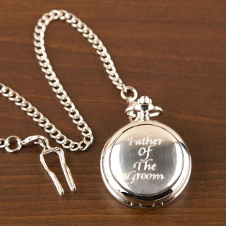 Father Of The Groom Pocket Watch