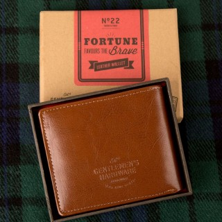 Personalised Leather Wallet