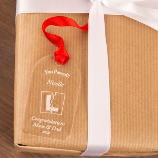 Passed Your Driving Test Gift Tag