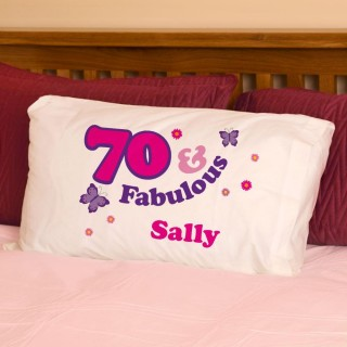70 And Fabulous Pillowcase For Her