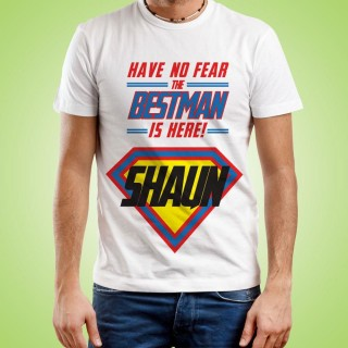 Personalised Best Man Superhero T-Shirt