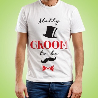 Custom Groom To Be T-Shirt