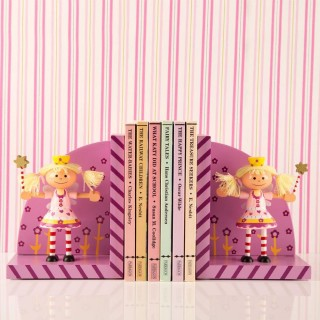 Handcrafted Mimi Fairy Bookends