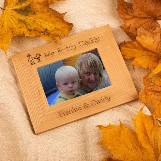Personalised Me & My Daddy Frame