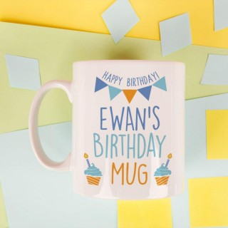 Personalised Birthday Mug for Him
