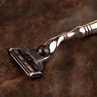 Pewter Shaving Razor
