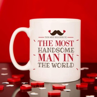 The Most Handsome Man In The World Mug