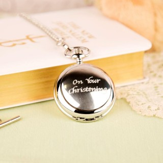 On Your Christening Pocket Watch