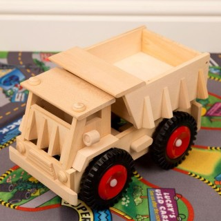 Wooden Tipping Lorry