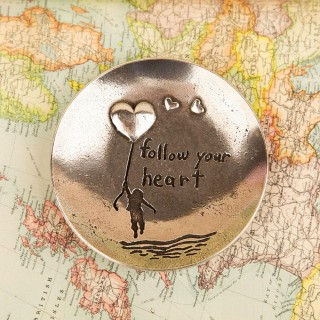 Follow Your Heart Trinket Plate