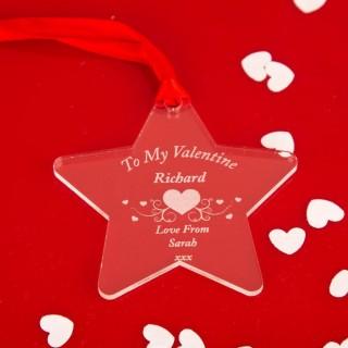 Valentine Acrylic Star