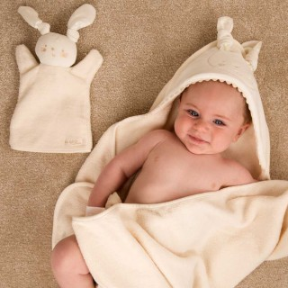 Rabbit Bath Time Towel Set
