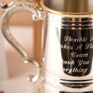 Personalised Brass & Pewter Tankard