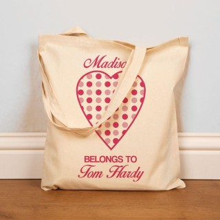 My Heart Belongs To...Custom Tote Bag