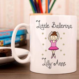 Girls Ballerina Mug