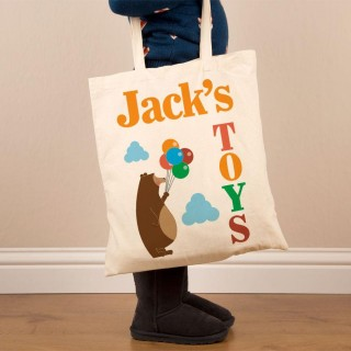 Personalised Toy Cotton Shoulder Bag