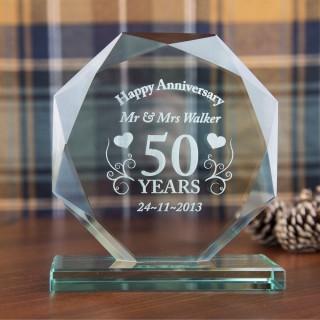 Bespoke Anniversary Skye Facet Gift