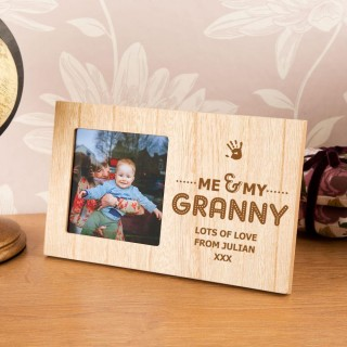 Me and My Granny Customised Photo Frame