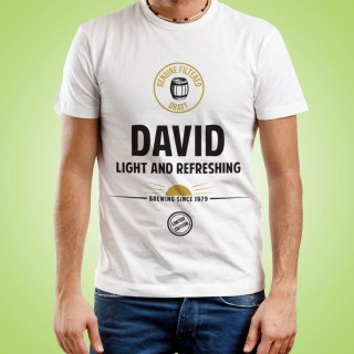 Mens Customised Light & Refreshing Tee