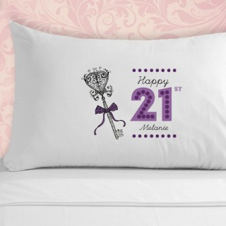 21st Birthday Pillowcase