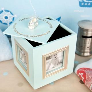 Boys 1st Birthday Keepsake Box