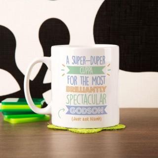 Personalised Best Godson...Just Ask Mug