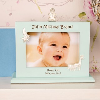 Bespoke Baby Boy Photo Album