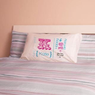 Personalised 16th Birthday Letter Pillowcase For Girls