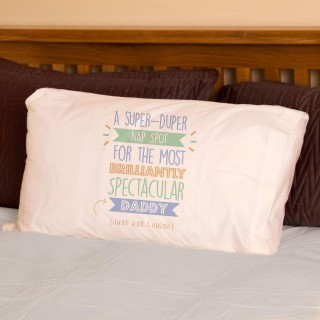 Personalised Best Dad Daddy...Just Ask Pillowcase