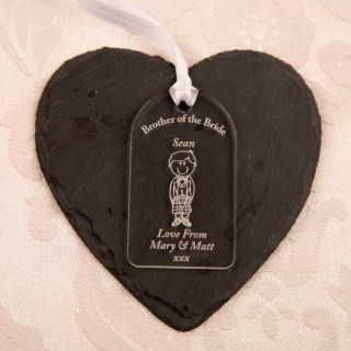 Brother Of Bride Gift Tag