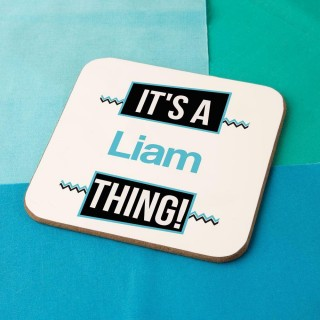 Its a Name Thing Novelty Drinks Coaster