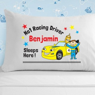 Racing Driver Pillowcase