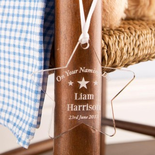 Personalised Naming Day Star