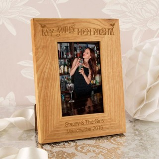 Personalised Wild Hen Night Photo Frame